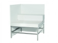 art. no. A2890 - Sofa Andrew Lowback 84 white
