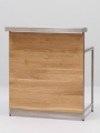 art. no. A2325 - Bar Counter Unit Oak, brown