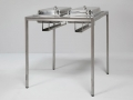 art. no. A2699 - Buffet Table high Chafing stainless steel 80x80