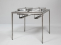 art. no. A2698 - Buffet Table Chaifing stainless steel 80x80