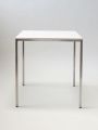 art. no. A2599 - Dining Table high White, 80x80, white